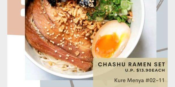 Kure Menya Singapore Buy 2 Meals & Get $10 Off Promotion Only On 14 Sep 2020