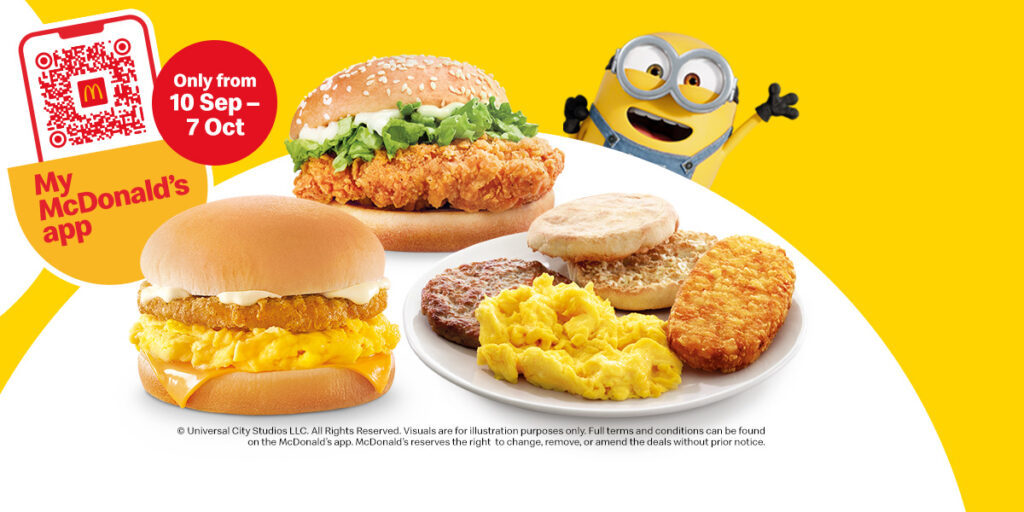 [UPDATED] McDonald's Singapore 1-for-1 Deals & More Is Happening From 10 Sep – 7 Oct 2020
