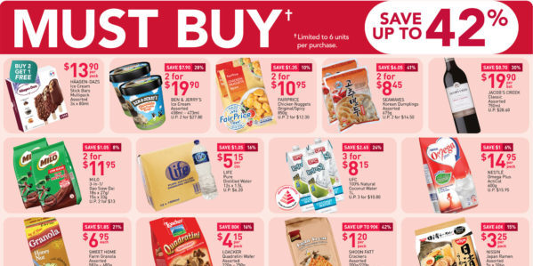 NTUC FairPrice Singapore Your Weekly Saver Promotion 10-23 Sep 2020