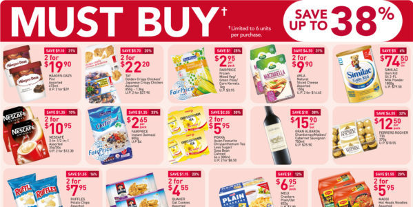 NTUC FairPrice Singapore Your Weekly Saver Promotion 17-23 Sep 2020