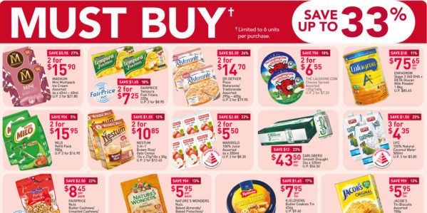 NTUC FairPrice Singapore Your Weekly Saver Promotions 3-9 Sep 2020