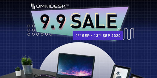 Omnidesk Singapore Is Having A 9.9 Sale Up To $707 Off Promotion ends 13 Sep 2020