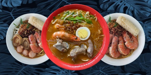 One Prawn Noodle Dinner Deal! Islandwide Delivery Flat Fee $5