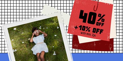Petit Bateau Singapore 9.9 Sale 40% Off + 10% Off Promotion 9-13 Sep 2020