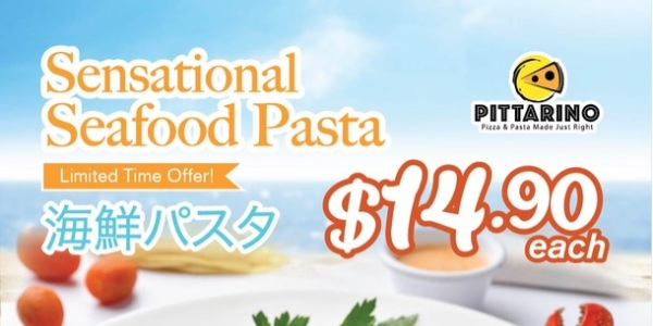 Pittarino at &JOY Dining Hall Launches Sensational Seafood Pasta Feast with New Items