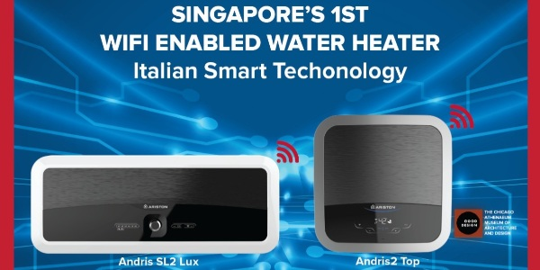 Upgrade Your Ariston Water Heater to Enjoy WiFi Smart Features, and get FREE $30 FairPrice Vouchers!