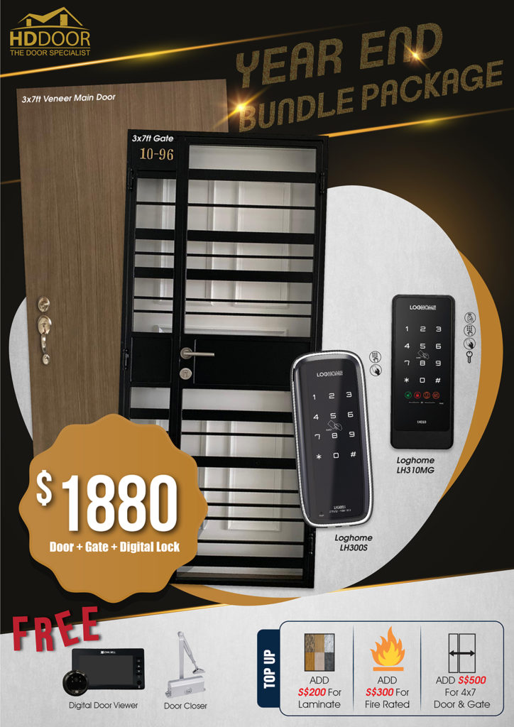 Year End Sale 2020 For Door Gate Digital Lock Bundle Package | Why Not Deals 1