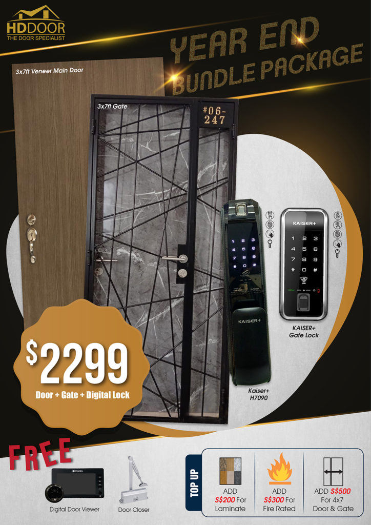 Year End Sale 2020 For Door Gate Digital Lock Bundle Package | Why Not Deals 5