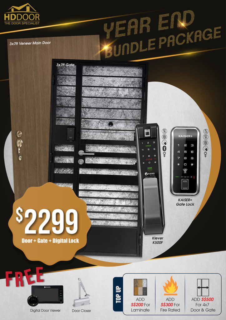 Year End Sale 2020 For Door Gate Digital Lock Bundle Package | Why Not Deals 6