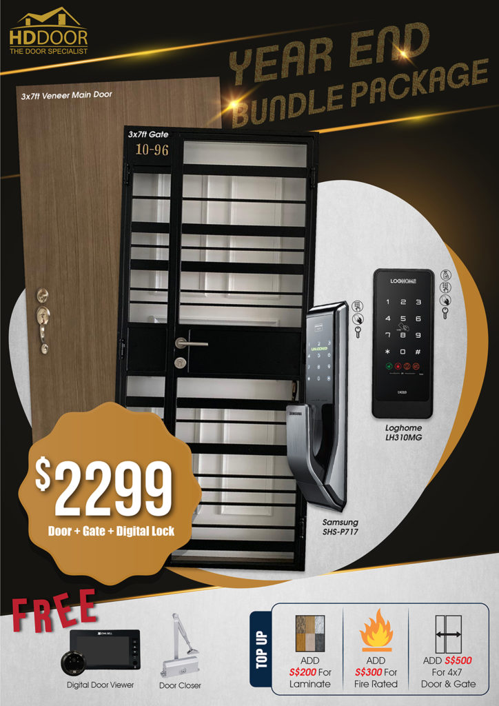 Year End Sale 2020 For Door Gate Digital Lock Bundle Package | Why Not Deals 7
