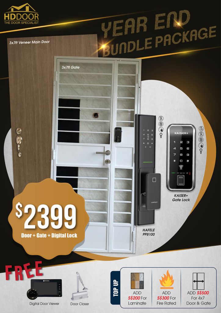 Year End Sale 2020 For Door Gate Digital Lock Bundle Package | Why Not Deals 8