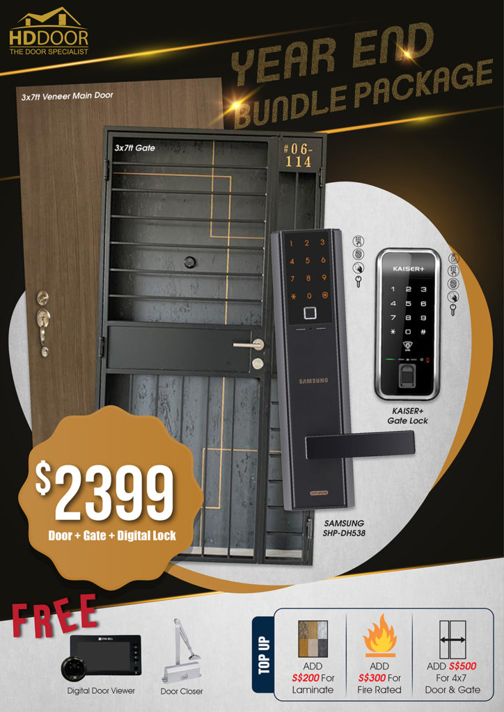 Year End Sale 2020 For Door Gate Digital Lock Bundle Package | Why Not Deals 9