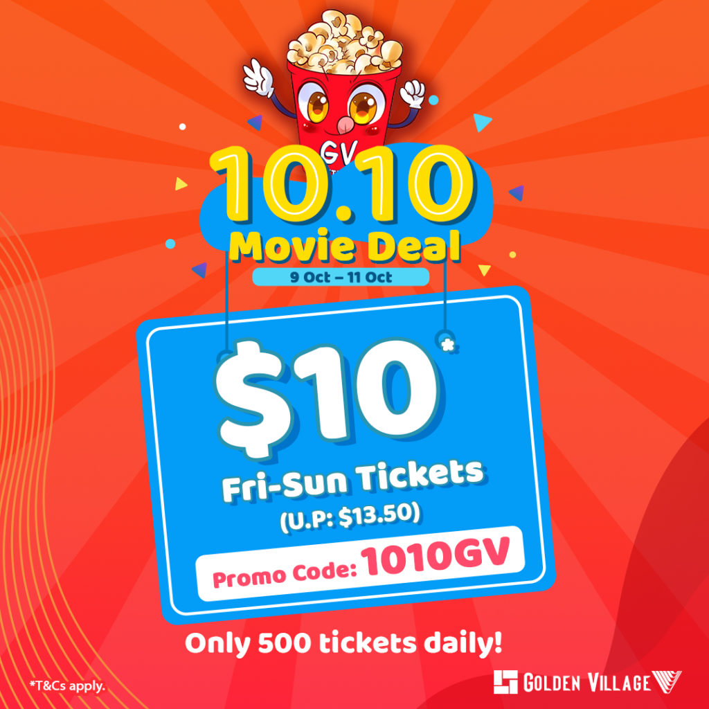 10.10 Movie Deal with Golden Village | Why Not Deals 1