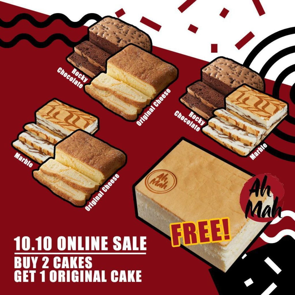 Ah Mah Homemade Cakes 10.10 Online Special: Buy 2 Get 1 Free (10-11 October 2020) | Why Not Deals 1