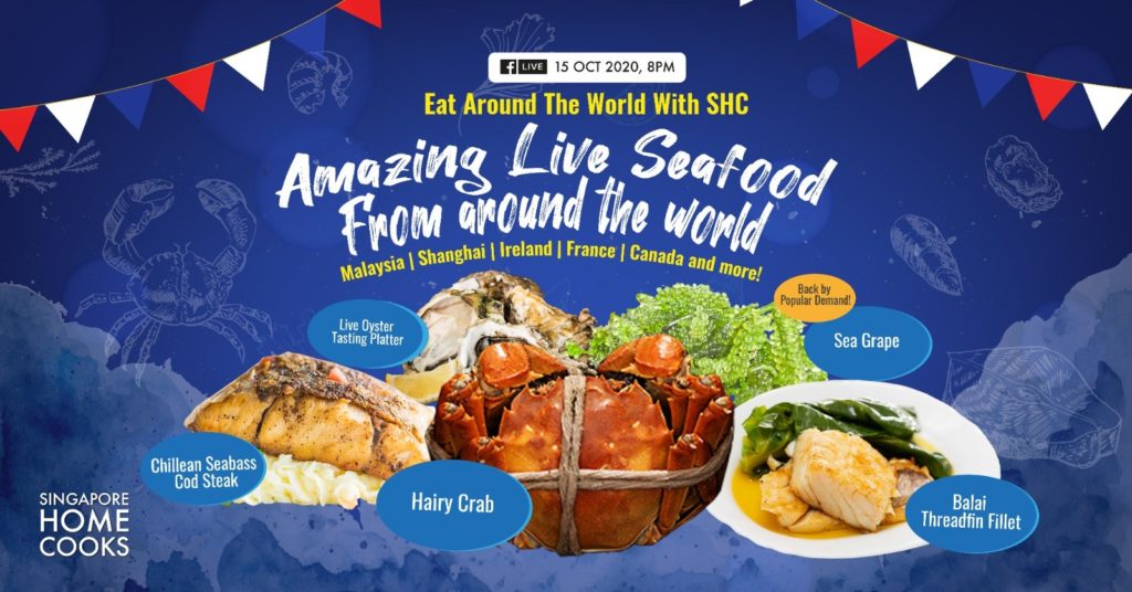 Singapore Home Cooks present Amazing Seafood Feast from Around the World - 3kg hybrid grouper | Why Not Deals