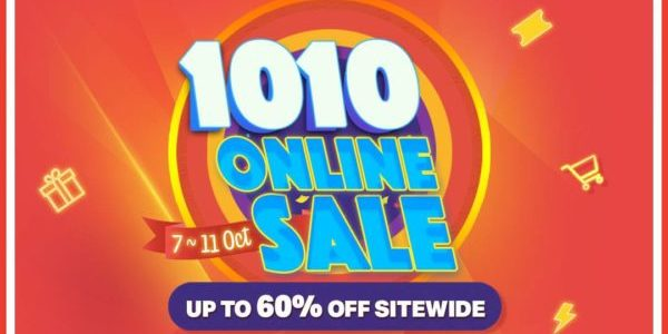 BEST Denki Singapore 10.10 Online Sale Up To 60% Off Promotion 7-11 Oct 2020