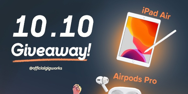 Gigworks 10.10 Giveaway!