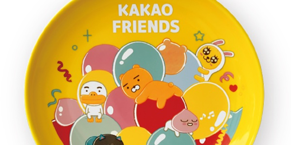 Jazz up mealtime with Kakao Friends ceramic plates, redeemable at 7-Eleven