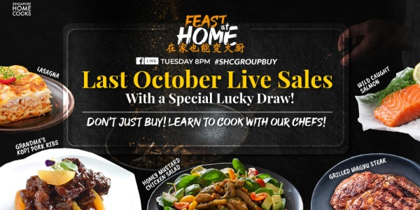 Last October SHC Live Special: LUCKY DRAW, Chef Demonstrations & One-night only HALLOWEEN EDITION!