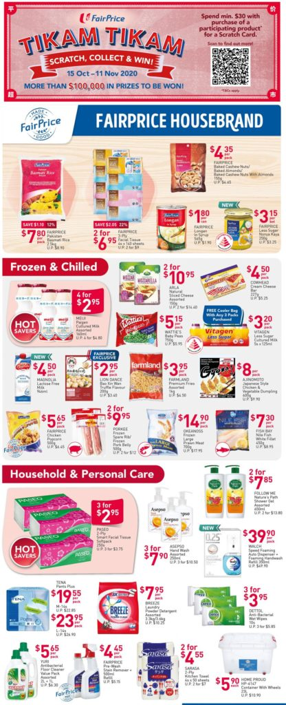 NTUC FairPrice Singapore Your Weekly Saver Promotion 15-21 Oct 2020 | Why Not Deals 2