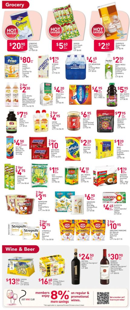 NTUC FairPrice Singapore Your Weekly Saver Promotion 15-21 Oct 2020 | Why Not Deals 3