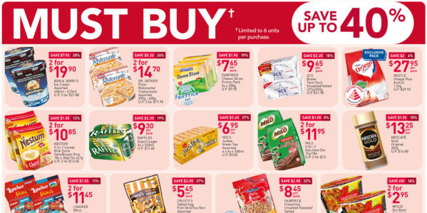 NTUC FairPrice Singapore Your Weekly Saver Promotion 15-21 Oct 2020