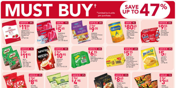 NTUC FairPrice Singapore Your Weekly Saver Promotions 29 Oct – 4 Nov 2020
