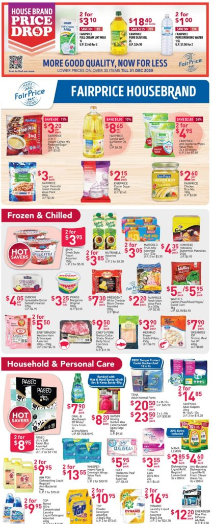 NTUC FairPrice Singapore Your Weekly Saver Promotions 8-14 Oct 2020   Why Not Deals 2