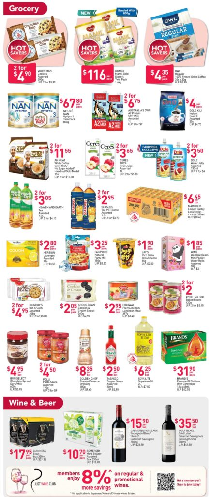 NTUC FairPrice Singapore Your Weekly Saver Promotions 8-14 Oct 2020   Why Not Deals 3