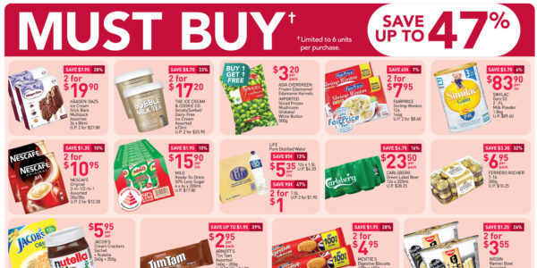 NTUC FairPrice Singapore Your Weekly Saver Promotions 8-14 Oct 2020