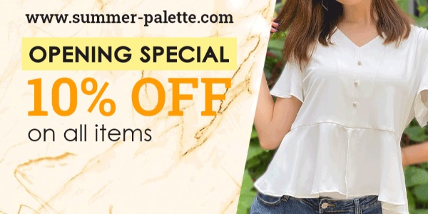 Summer Palette Singapore Official Launch 10% Off Promotion 1-31 Oct 2020