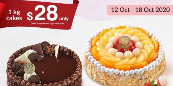 PrimaDeli Singapore All Time Favourite Cakes 1kg Cakes at $28 Promotion 12-18 Oct 2020