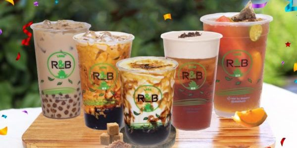 R&B Tea Singapore New Outlet Opening 1-for-1 Promotion 1-5 Oct 2020