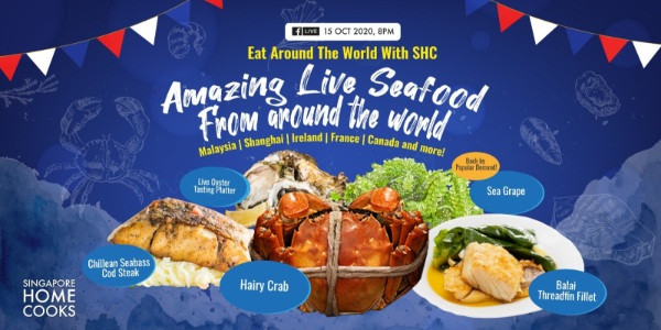 Singapore Home Cooks present Amazing Seafood Feast from Around the World – 3kg hybrid grouper