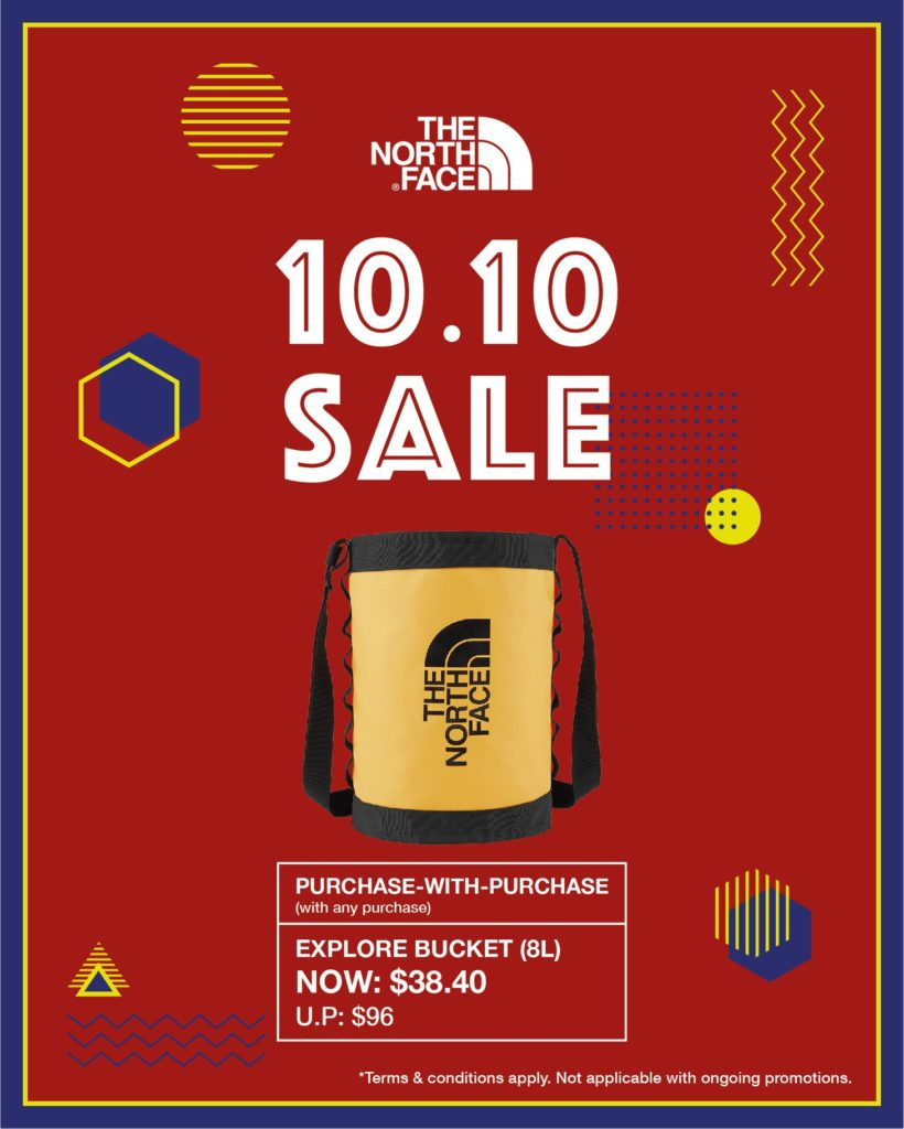 The North Face Singapore 10.10 Exclusive Up To 60% Off Promotion ends 25 Oct 2020 | Why Not Deals 9