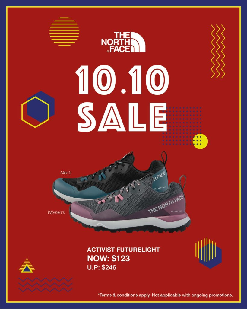 The North Face Singapore 10.10 Exclusive Up To 60% Off Promotion ends 25 Oct 2020 | Why Not Deals 3