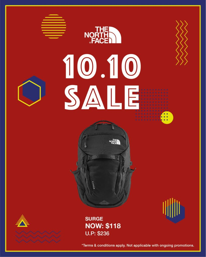 The North Face Singapore 10.10 Exclusive Up To 60% Off Promotion ends 25 Oct 2020 | Why Not Deals 5