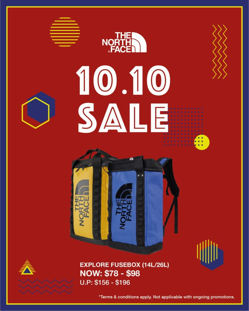 The North Face Singapore 10.10 Exclusive Up To 60% Off Promotion ends 25 Oct 2020 | Why Not Deals 6