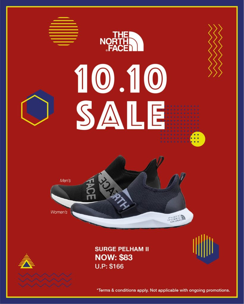 The North Face Singapore 10.10 Exclusive Up To 60% Off Promotion ends 25 Oct 2020 | Why Not Deals 7