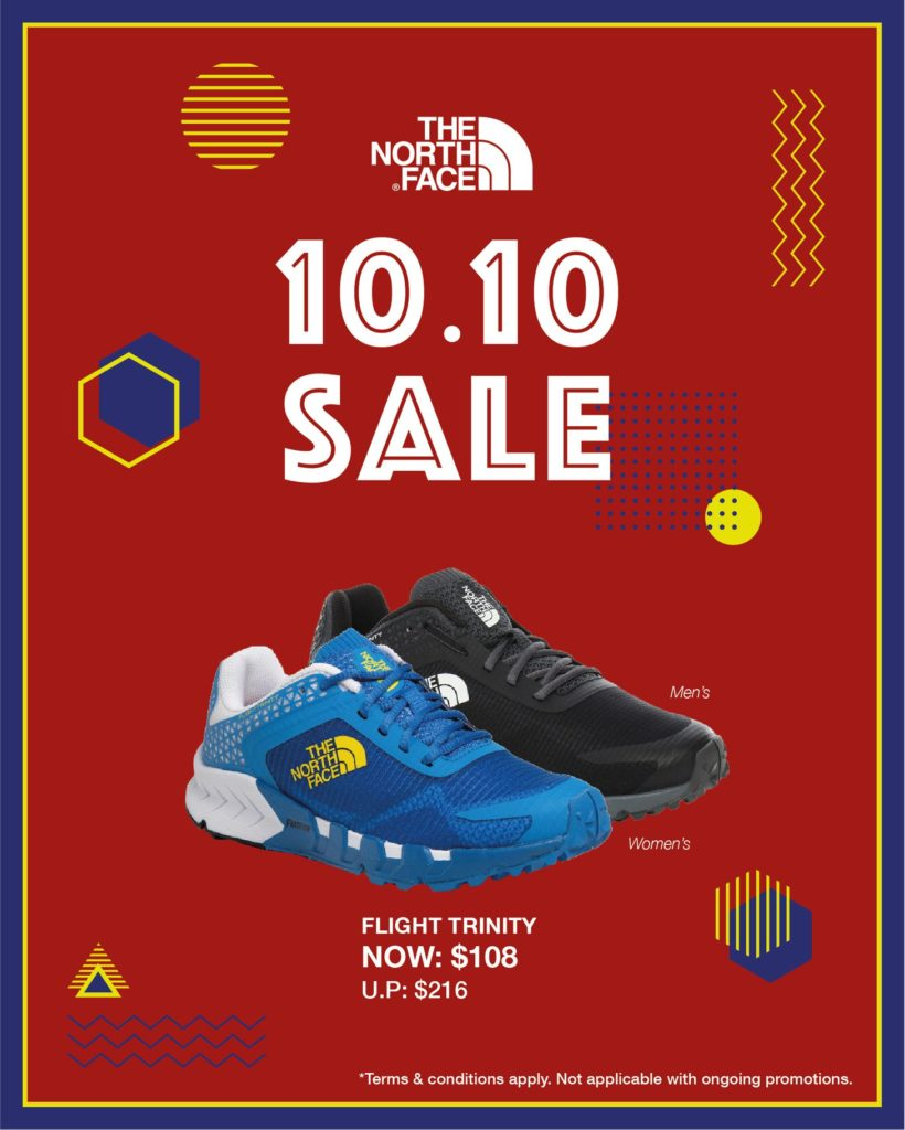 The North Face Singapore 10.10 Exclusive Up To 60% Off Promotion ends 25 Oct 2020 | Why Not Deals