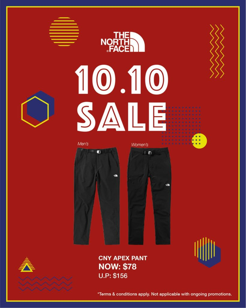 The North Face Singapore 10.10 Exclusive Up To 60% Off Promotion ends 25 Oct 2020 | Why Not Deals 8