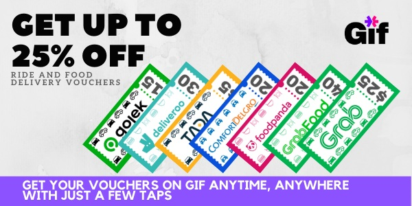 Up To 25% Off Ride and Food Delivery Vouchers