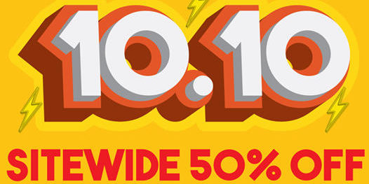 Winter Time SG 10.10 Sale Up To 50% Off Promotion ends 11 Oct 2020