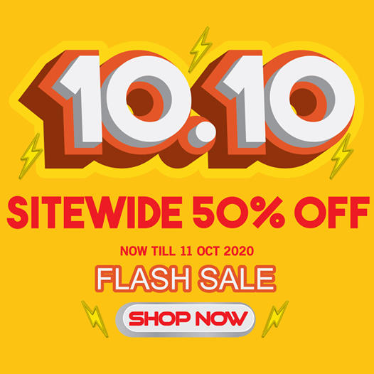 Winter Time SG 10.10 Sale Up To 50% Off Promotion ends 11 Oct 2020 | Why Not Deals