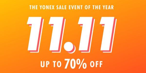 11.11 Up To 70% Off Yonex – SunriseClick