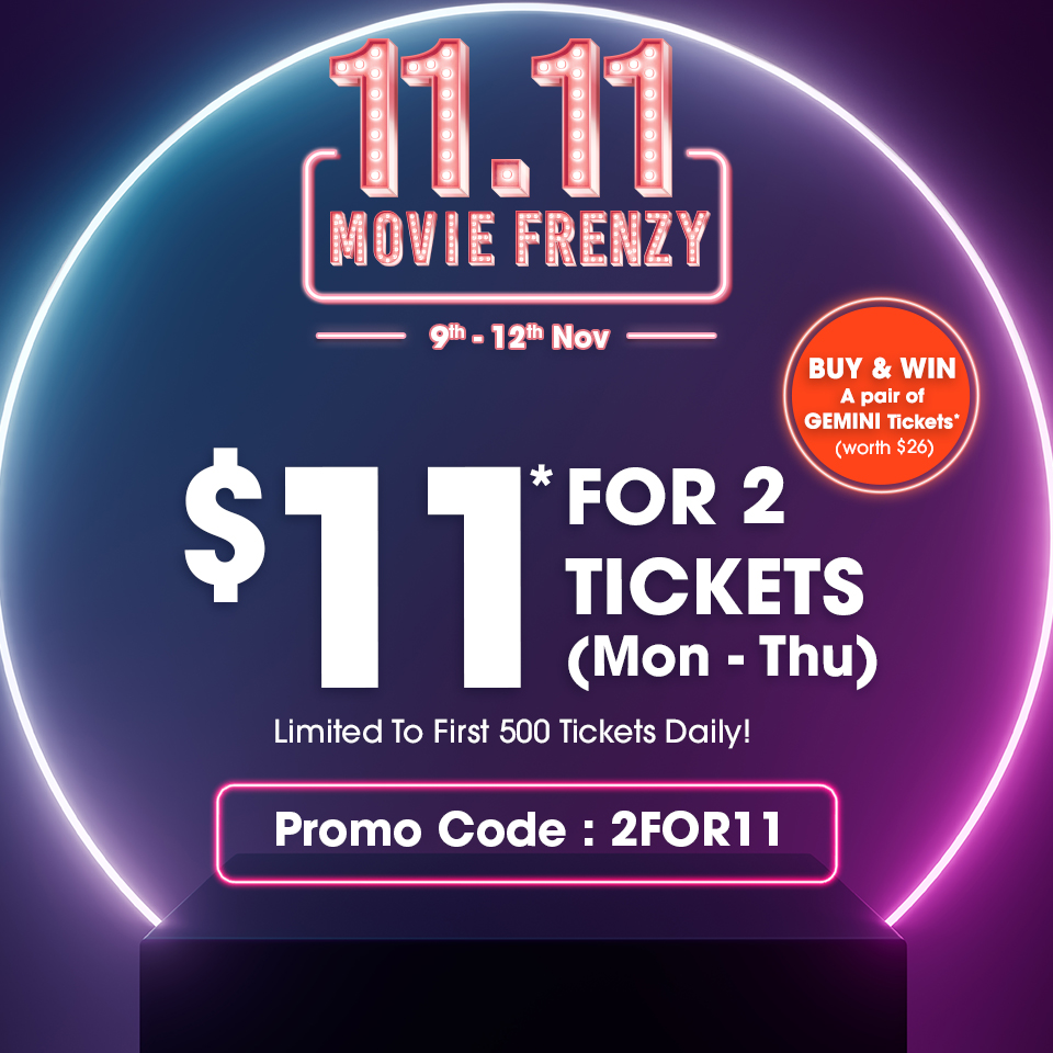 11.11 MOVIE FRENZY CELEBRATION | Why Not Deals 1