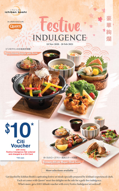 Ichiban Boshi & Ichiban Sushi's New Limited-Time Only 7-course Festive Sets, $10 Dining Voucher for | Why Not Deals 2