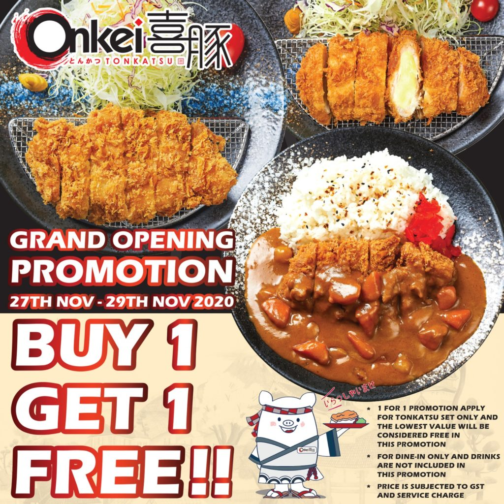 Onkei Grand Opening 1-1 Promotion | Why Not Deals 1