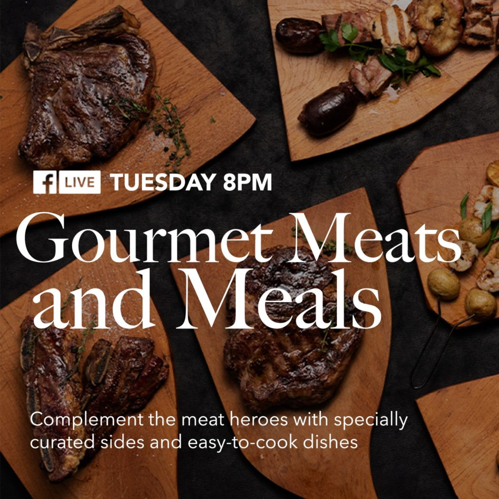 Gourmet Meats and Meals for our Tuesday Facebook Live at 8pm   Why Not Deals 1