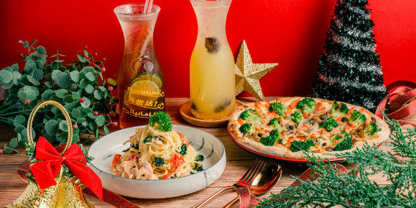 Bundle Up For A Touch of Christmas Cheer with PastaMania! (Until 3 January 2020)
